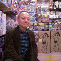 Keeping it in the family: Masaki Terao, 58, is the proprietor and purse-string holder at Toys Terao, which his family has been running on Nakamise-dori in front of Asakusa's Sensoji Temple for nearly 130 years. | MICHAEL KLEINDL