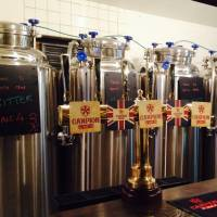 Worts and all: Campion Ale brews its beers behind the bar. | ANGELA KUBO