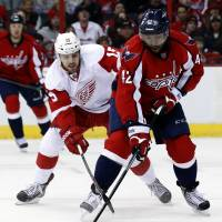 Capitals top Red Wings in overtime