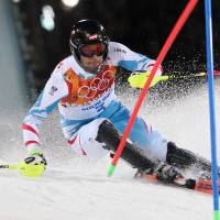 Matt captures gold in slalom