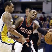 Hill leads Pacers to win