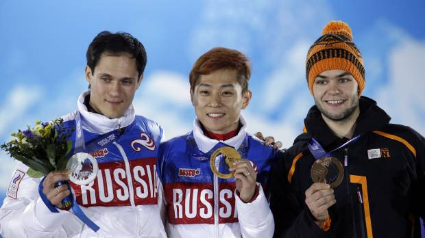 Ahn skates to more glory for Russia