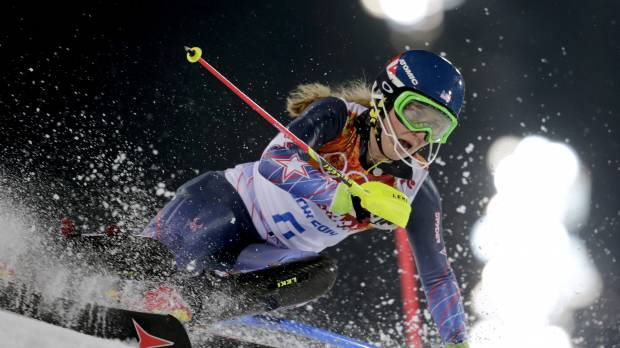 Shiffrin sets new mark with title