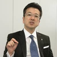 Fostering innovation: Hiroyuki Fujita, a U.S.-based entrepreneur, speaks during an interview in Tokyo in October. | KYODO