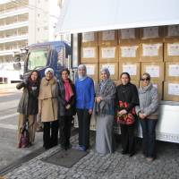 Charity from Japan for Syrian refugees