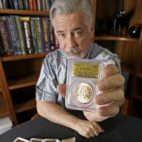 U.S. couple strike gold with find of rare coins
