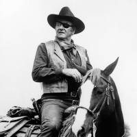 John Wayne is shown in a scene from the 1969 movie 'True Grit,' which brought him an Academy Award for best actor. | AP