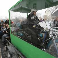 Ohio biker's wish comes true when he's buried on a Harley