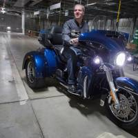 Harley-Davidson aims trikes at Japan's drivers