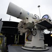 Rail guns, lasers to change way U.S. fights wars
