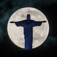 Repairs may darken giant Christ statue in Rio