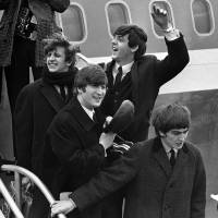 British invasion: The Beatles arrive in New York at John F. Kennedy airport on Feb. 7, 1964. | AP