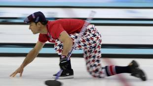 2014 Sochi Olympics men's curling team norway