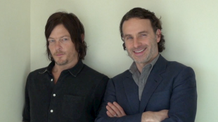 [VIDEO] Interview with stars of 'The Walking Dead,'  Andrew Lincoln and Norman Reedus