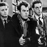 Bill Murray (left), Dan Aykroyd (center) and Harold Ramis appear in a scene from the 1984 movie 'Ghostbusters.' Ramis died early Monday in Chicago from complications of autoimmune inflammatory disease, according to his attorney. He was 69. | AP