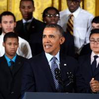Obama says plight of U.S. minority youths an 'outrage'