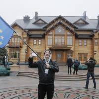 Shocking opulence of Yanukovych home revealed as Ukraine leader flees