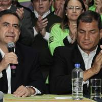 Ecuador opposition wins big local races in blow to Correa