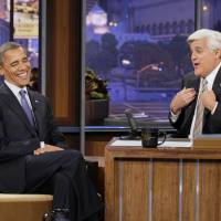 'Tonight Show' host Jay Leno says he is done with late-night TV