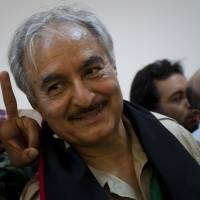 Libyan general declares a coup, but no one listens