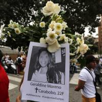 Venezuela arrests five from domestic spy agency over slain protesters