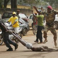 Central African Republic soldiers join chaotic violence