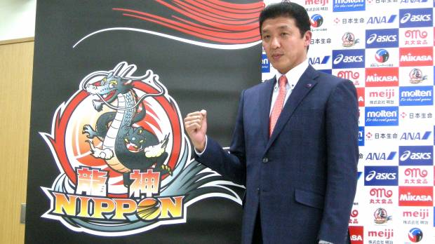 Nanbu takes control of men's national volleyball team