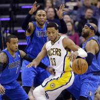 Mavericks outplay Pacers in pivotal fourth quarter