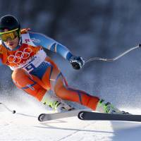 Super-combined leader Jansrud pleased with effort in downhill portion