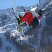 U.S. sweeps men's slopestyle skiing event