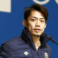 Walking wounded: Daisuke Takahashi suffered a training injury in November and revealed on Monday that he has not yet fully recovered. | KYODO
