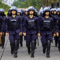 Two killed by grenade at Bangkok anti-government protest