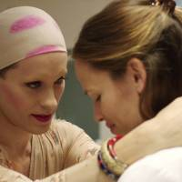 HIV-positive Rayon (Jared Leto) looks to childhood friend Eve (Jennifer Garner) for some comfort.  |  © 2013 BASS FILMS, LLC AND MONARCHY ENTERPRISES S.A.R.L. IN THE REST OF THE WORLD. ALL RIGHTS RESERVED.