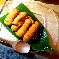 The delicate, briny flavor and creamy texture of the uni, shipped down from Hokkaido, are about as good as it gets. | ROBBIE SWINNERTON