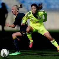 Nadeshiko beat Sweden late to reach Algarve final