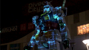 "[VIDEO] Tokyo Gundam Project 2014: ""Industrial Revolution"" -to the future-"