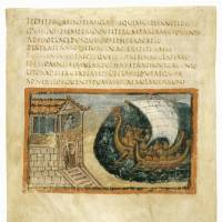 A codex created in Rome in 400 is shown in this handout image from the Vatican Apostolic Library. | REUTERS