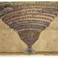 This illustration for Dante's 'Divine Comedy,' made by artist Sandro Botticelli in the 15th century, is held by the Vatican Apostolic Library. | REUTERS