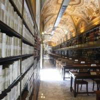 The Vatican Apostolic Library in Vatican City. | AP