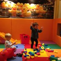 Play with your food: More than 350 izakaya pub-restaurants in the nationwide Monteroza chain have private rooms equipped with a kids' play area, ranging from small family rooms to large party spaces. | DANIELLE DEMETRIOU