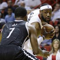 Nets overcome Heat for third time this season