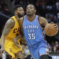 Thunder repel Cavs fightback