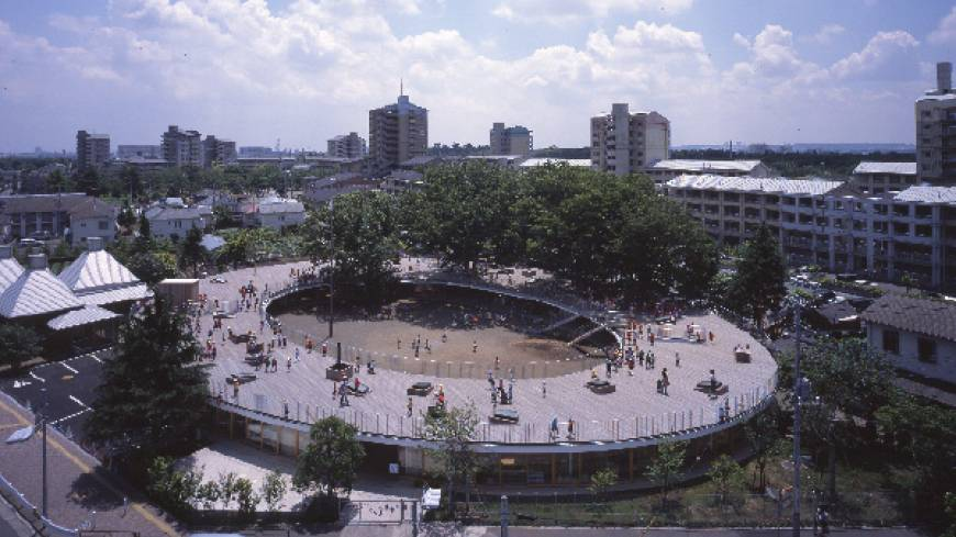 Open up: Fuji Kindergarten by Tezuka Architects features an outdoor play area on its roof.