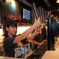 Punk brew: Renowned for its stunts as well as for strong beers, Britain's BrewDog has opened a Roppongi bar. | SAMUEL WANG