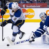 Blues prolong Leafs' slump
