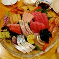 Supreme seafood: The mixed sashimi plate at Ajisen. | ROBBIE SWINNERTON