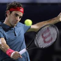 Formidable again: Roger Federer enters the Indian Wells tournament this week after winning the Dubai Open for his 78th career ATP title. | AP