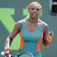 Williams rolls by Sharapova again