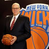 Legacy on the line: Phil Jackson, who won 11 NBA titles as a coach, has become the new president of the New York Knicks. | AP