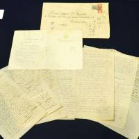 Keio University displays Einstein's handwritten documents on Japan